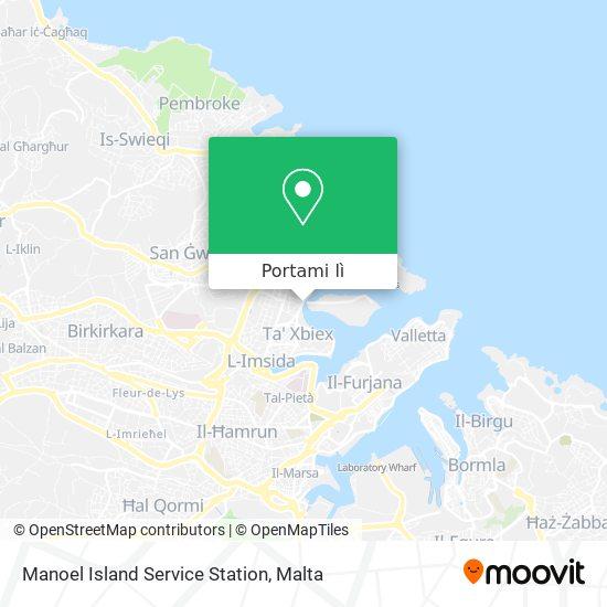 Mappa Manoel Island Service Station