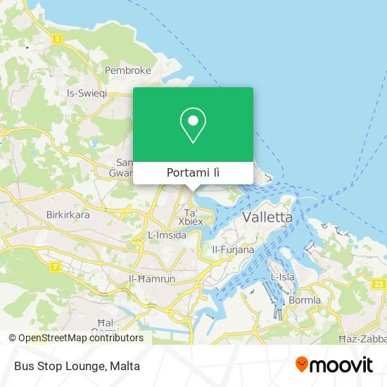 Mappa Bus Stop Lounge