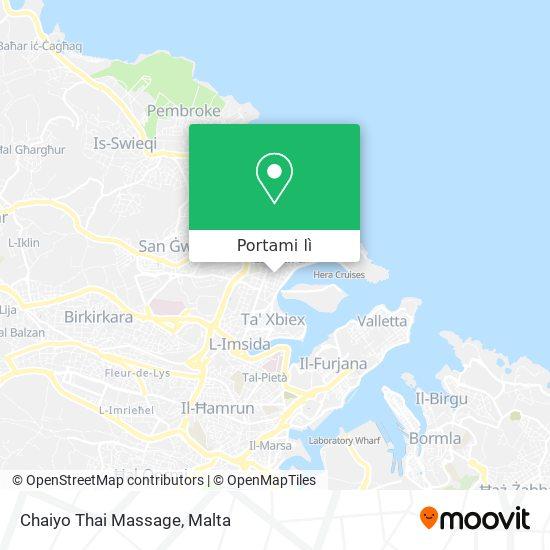 Mappa Chaiyo Thai Massage
