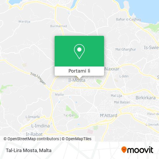 Mappa Tal-Lira Mosta