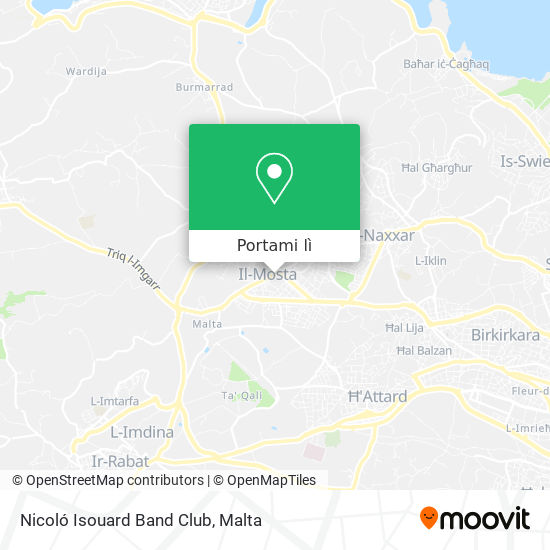 Mappa Nicoló Isouard Band Club