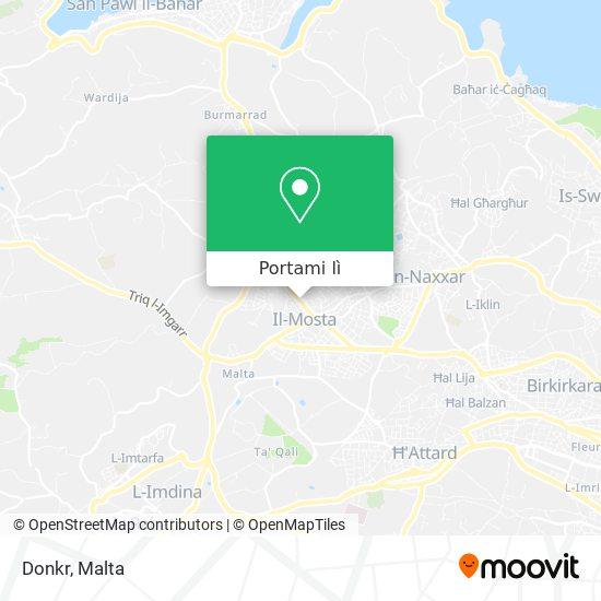 Mappa Donkr