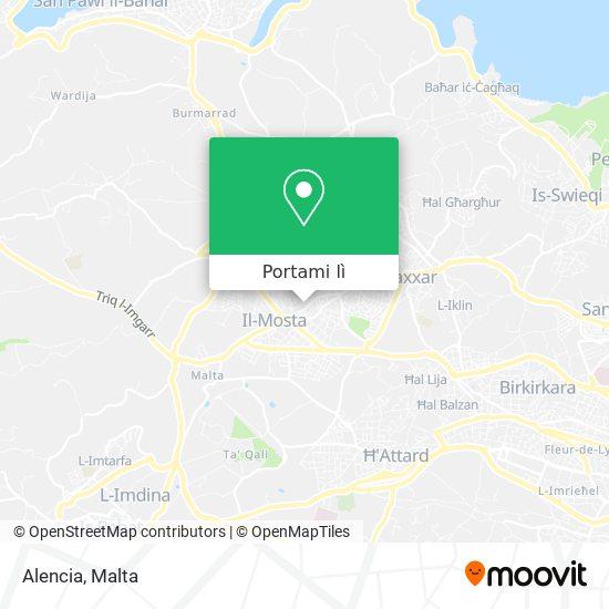 Mappa Alencia