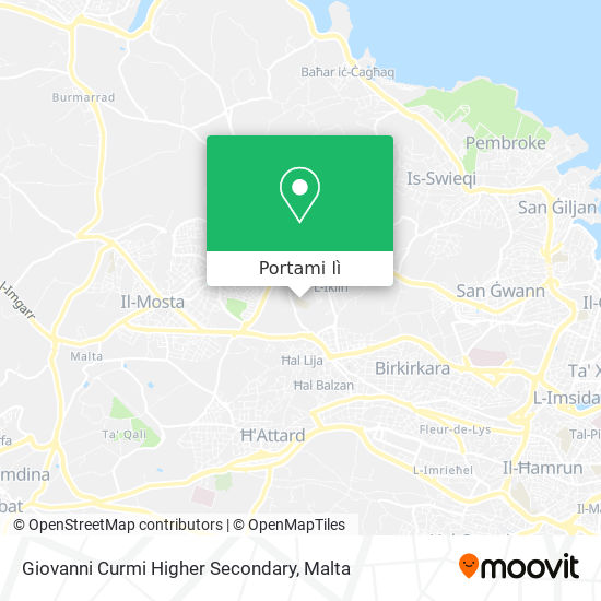 Mappa Giovanni Curmi Higher Secondary