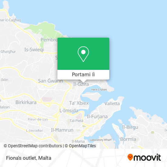Mappa Fiona's outlet