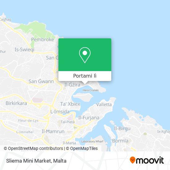 Mappa Sliema Mini Market