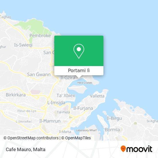 Mappa Cafe Mauro