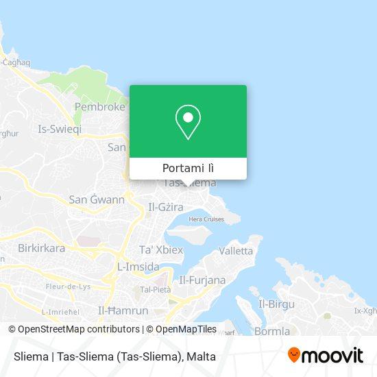 Mappa Sliema   Tas-Sliema
