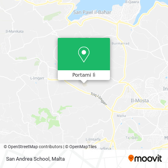 Mappa San Andrea School