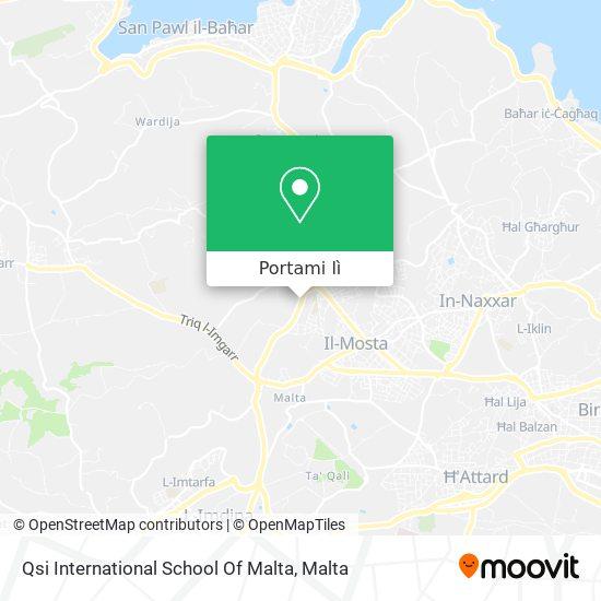 Mappa Qsi International School Of Malta