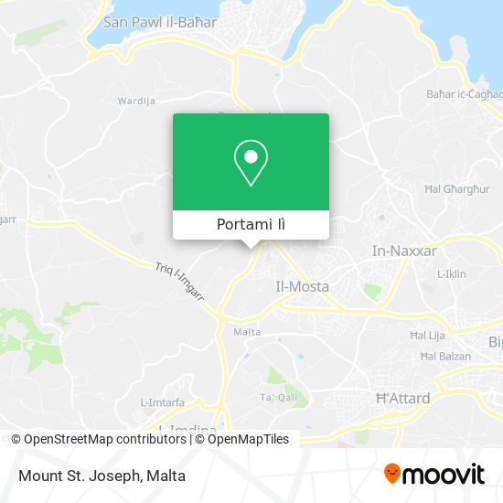 Mappa Mount St. Joseph