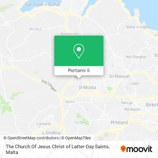 Mappa The Church Of Jesus Christ of Latter-Day Saints
