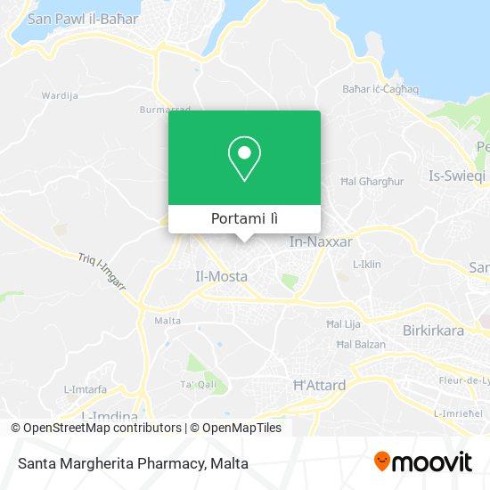 Mappa Santa Margherita Pharmacy