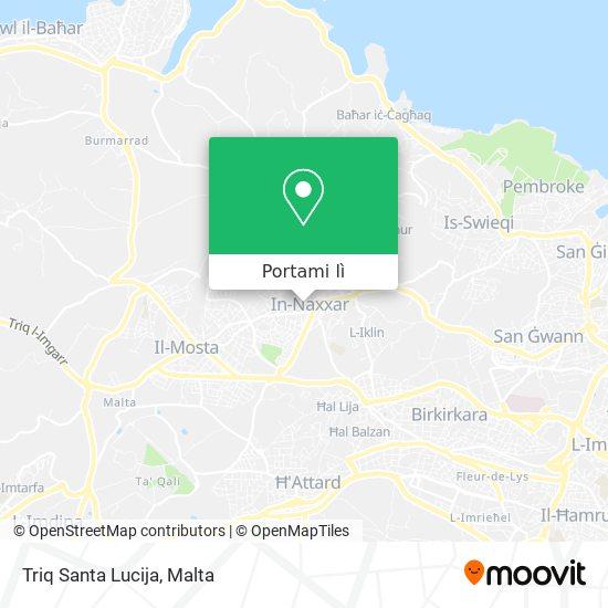 Mappa Triq Santa Lucija