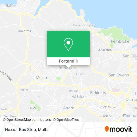 Mappa Naxxar Bus Stop