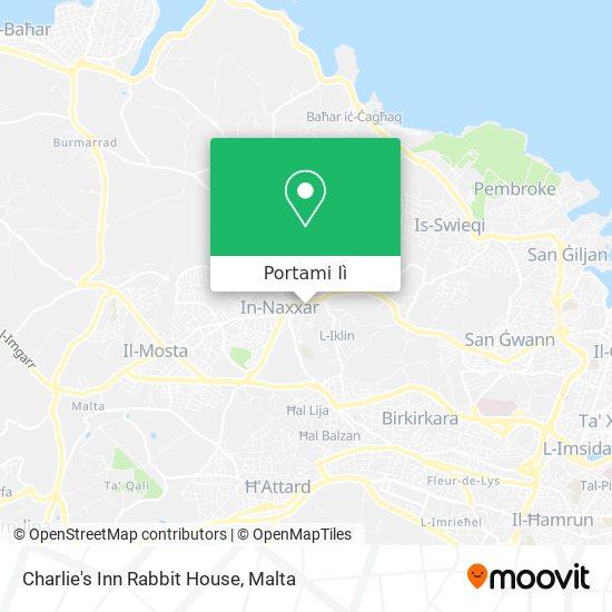 Mappa Charlie's Inn Rabbit House