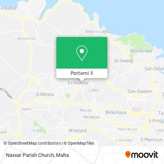 Mappa Naxxar Parish Church