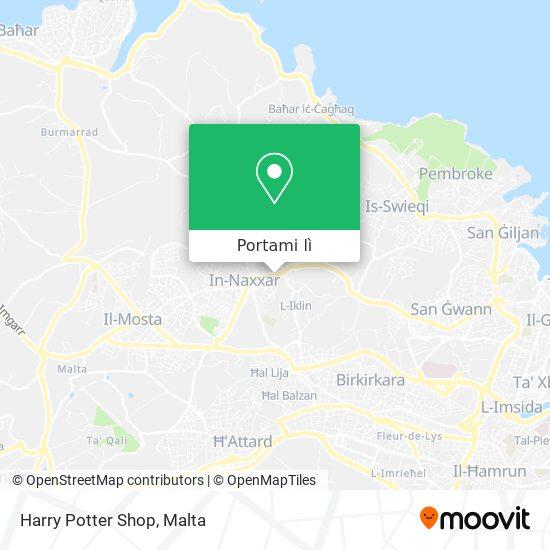 Mappa Harry Potter Shop
