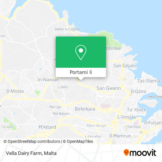 Mappa Vella Dairy Farm