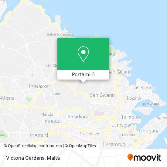 Mappa Victoria Gardens