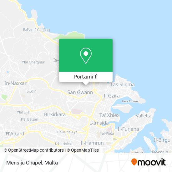 Mappa Mensija Chapel