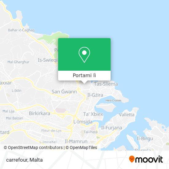 Mappa carrefour