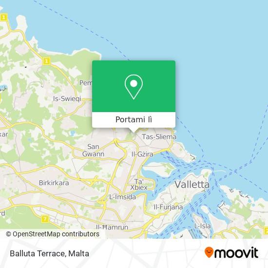 Mappa Balluta Terrace
