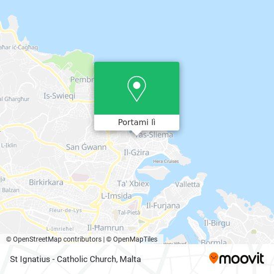Mappa St Ignatius - Catholic Church