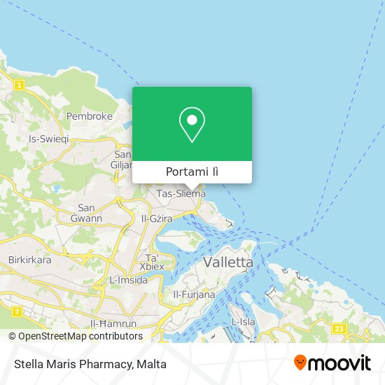 Mappa Stella Maris Pharmacy