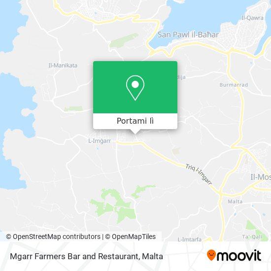 Mappa Mgarr Farmers Bar and Restaurant
