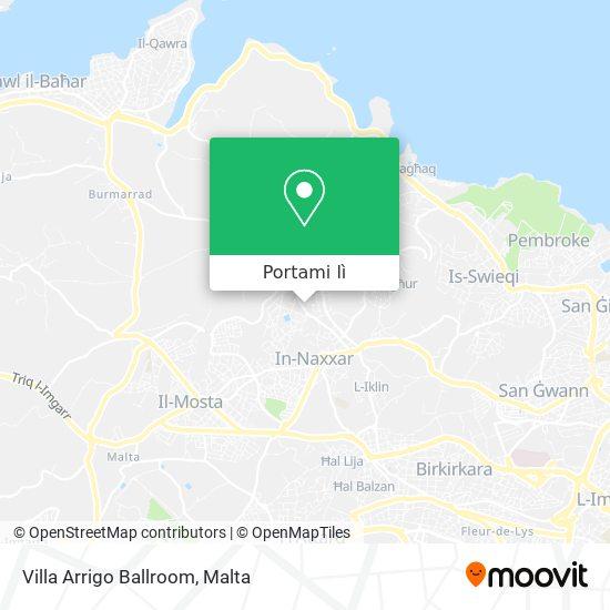 Mappa Villa Arrigo Ballroom