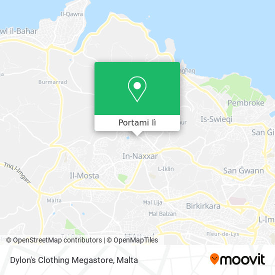 Mappa Dylon's Clothing Megastore
