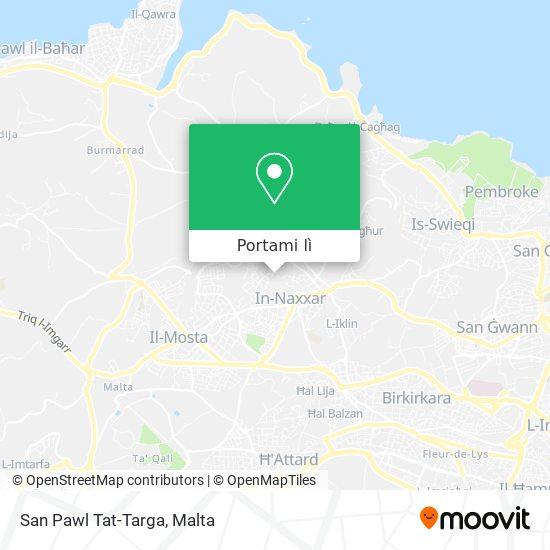 Mappa San Pawl Tat-Targa