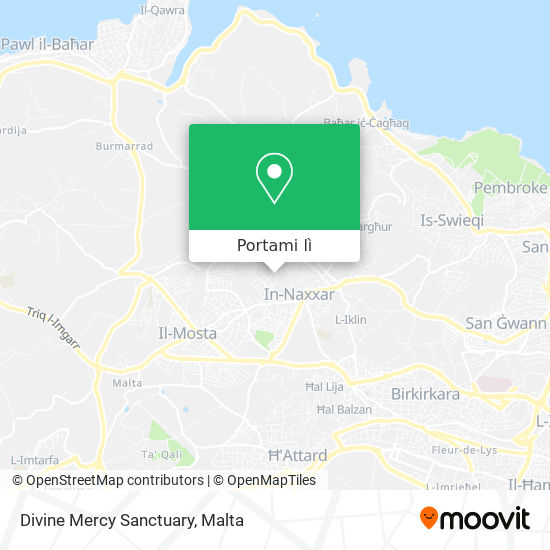 Mappa Divine Mercy Sanctuary