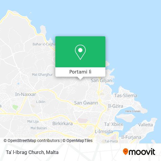 Mappa Ta' l-Ibrag Church