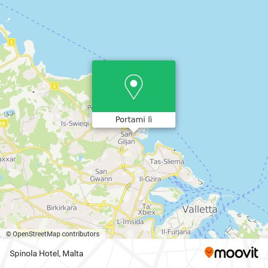 Mappa Spinola Hotel