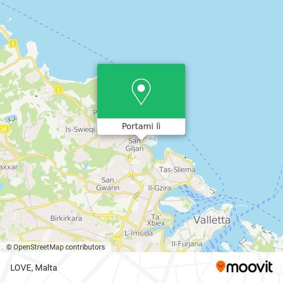 Mappa LOVE