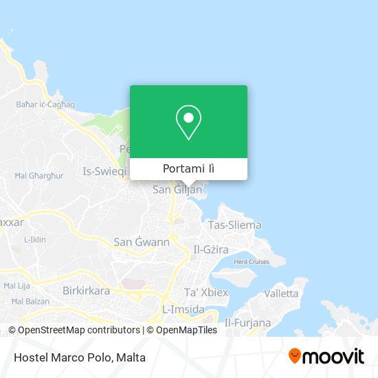 Mappa Hostel Marco Polo