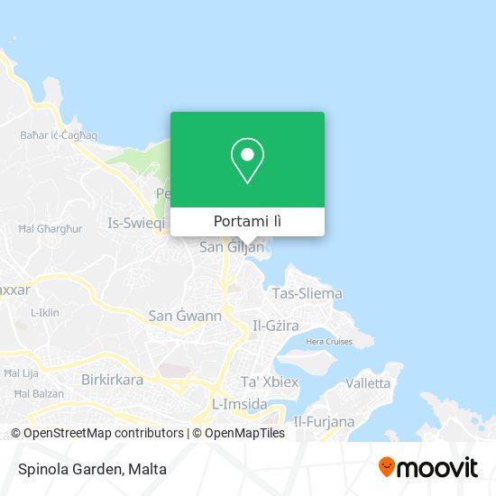 Mappa Spinola Garden
