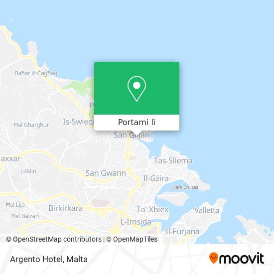 Mappa Argento Hotel