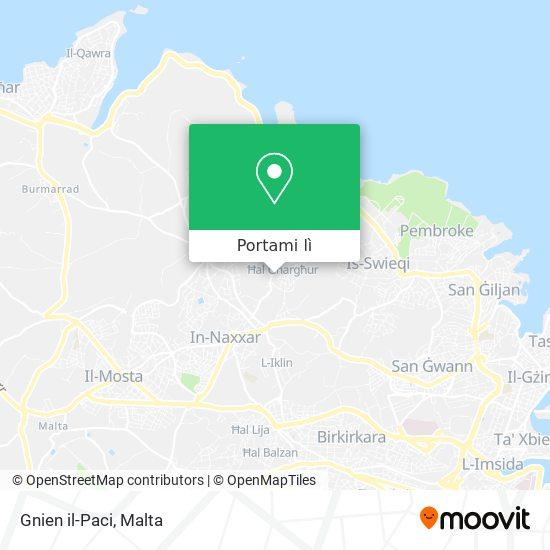 Mappa Gnien il-Paci