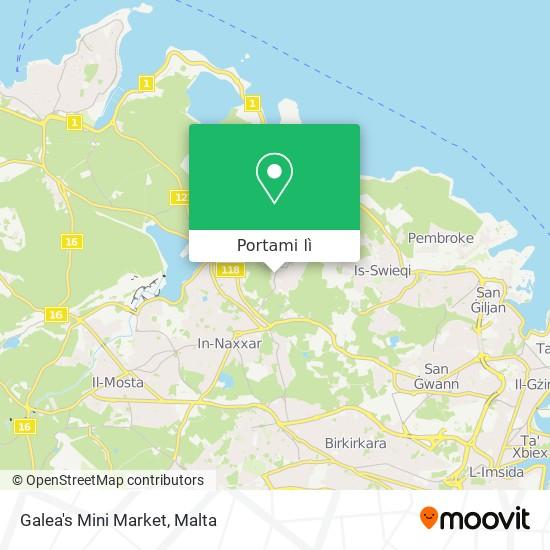 Mappa Galea's Mini Market