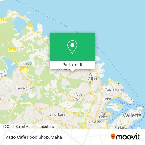 Mappa Vago Cafe Food Shop