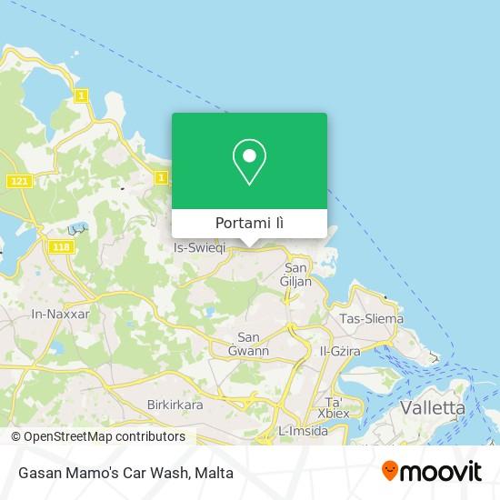 Mappa Gasan Mamo's Car Wash