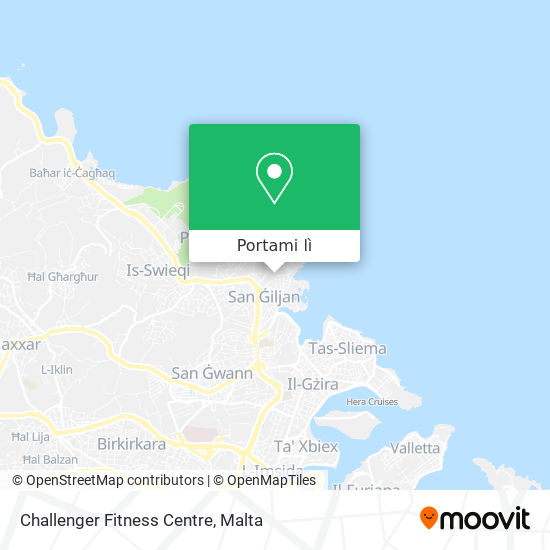 Mappa Challenger Fitness Centre