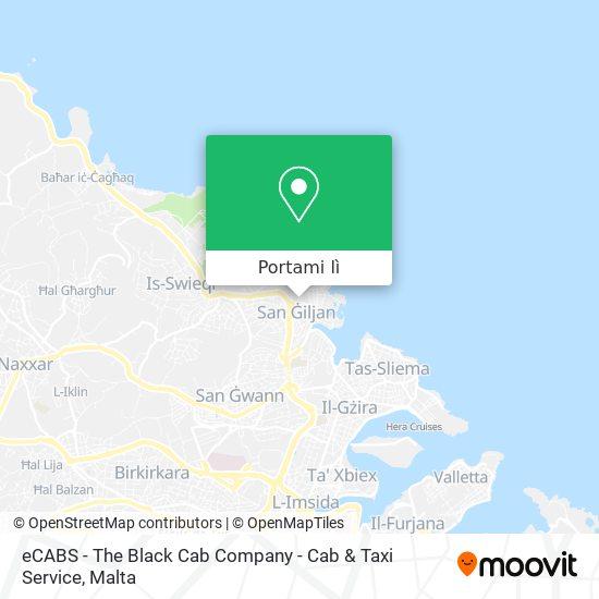 Mappa eCABS - The Black Cab Company - Cab & Taxi Service