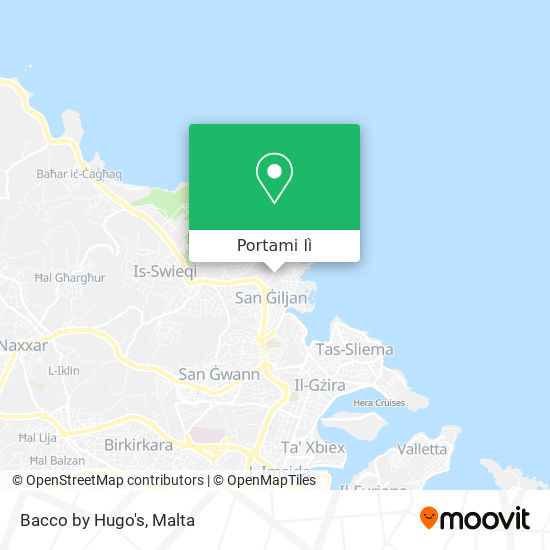 Mappa Bacco by Hugo's