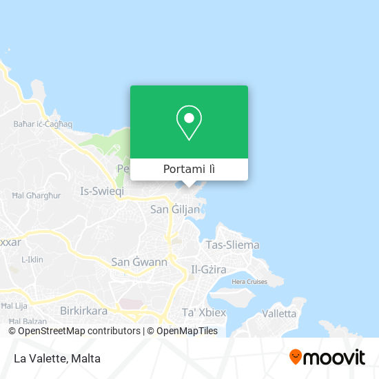 Mappa La Valette