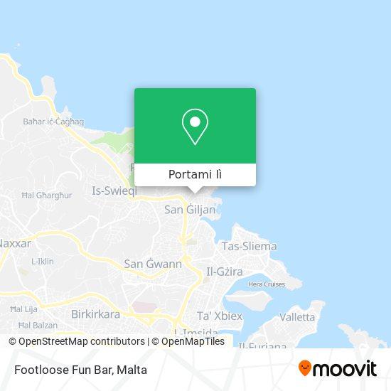 Mappa Footloose Fun Bar