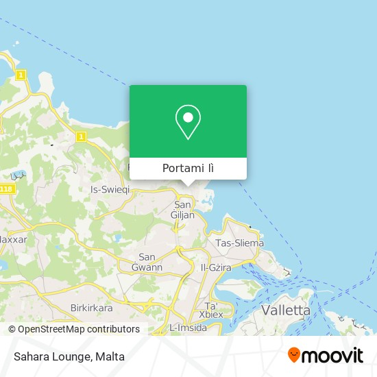 Mappa Sahara Lounge